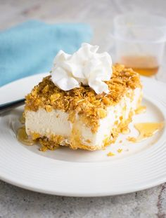 It's easy to make Fried Ice Cream in a Pan! You'll love this version with toasted corn flakes, butter, cinnamon, brown sugar and honey. Such a fun dessert!