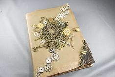 Steampunk journal - made from scratch