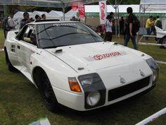 Toyota MR2 Group-B Rally Car Prototype