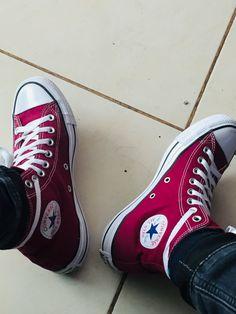 Converse All Star, Converse Chuck Taylor High, Converse High, High Top Sneakers, Chuck Taylors High Top, High Tops, Stars, Outfits, Fashion