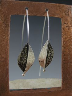 Sterling Leaf Earrings