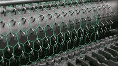 Chicken wire. | 22 Mesmerising GIFs That Show How Things Are Made