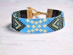 Bohemian Bead Bracelet  Seed Bead Bracelet  by SKBeadedJewelry