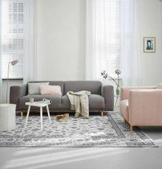 Stijlvolle rustige woonkamer. Scandinavische stijl.