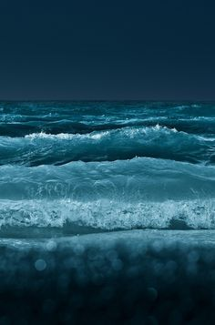 The ocean at midnight | More at: Fonda LaShay // Blog (@Fonda Lassley Lassley LaShay) #photography