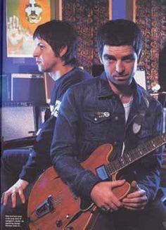 Noel Gallagher and Gem Archer