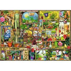 Puzzle Colin Thompson: Etagère de Jardin RAVENSBURGER - Puzzle adulte