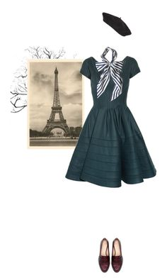 """""""Pray for Paris and for the World. God is listening."""" by a-romantic-at-oxford ❤ liked on Polyvore featuring Zac Posen, Zara and Esther Williams"""
