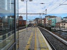Looking towards Amiens Street from Platforms 6 & 7, Connolly Station.
