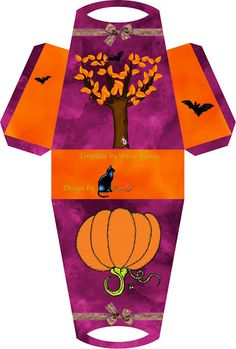 Halloween - tiziana - Picasa Web Albums - a Dulceros Halloween, Halloween Miniatures, Halloween Clipart, Halloween Season, Holidays Halloween, Halloween Treats, Halloween Decorations, Glue Crafts, Paper Crafts