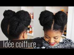 Idée coiffure protectrice sur cheveux crépus - YouTube