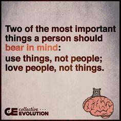 Use things