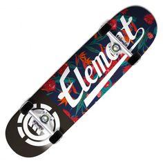 ELEMENT Sketch Floral Script skateboard complet 7.75 pouces 110,00 € #skate #skateboard #skateboarding #streetshop #skateshop @playskateshop