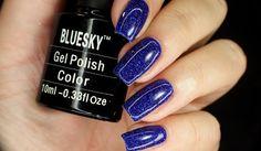 Nails Revolutions by Alicja Fik: Bluesky - SR51 GRANULATED BLUE