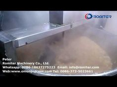 Auto-Discharge Type Round Onion Crisp Frying Machine for Sale