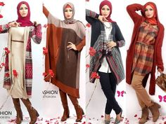 Winter hijab outfits in warm colors by Milla http://www.justtrendygirls.com/winter-hijab-outfits-in-warm-colors-by-milla/