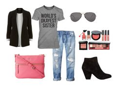 Cute Outfit Ideas of the Week #25 - Shirts with Sayings 'World's Okayest Sister'