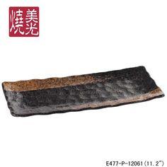 MG Unusual and Creative Restaurants ceramic tableware&ceramic sushi plate E477-P-12061  Size 1: length 11.2 inch x width 4.7 inch