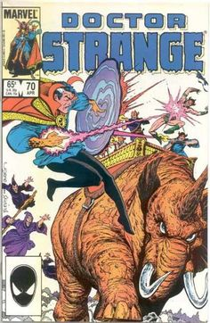 Fight - Marvel - Marvel Comics - Strange - Dr - Bret Blevins, Terry Austin