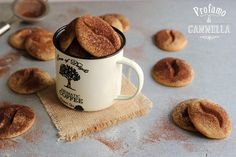 Biscottoni al caffè espresso | Profumo di cannella