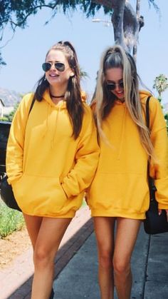 Oversized Yellow Hoodie - Shop for Oversized Yellow Hoodie on Wheretoget