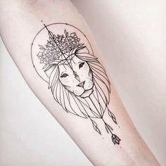 29 Ideas For Tattoo Designs Animals Geometric Piercings, Piercing Tattoo, Arm Tattoo, Sleeve Tattoos, Leo Tattoos, Music Tattoos, Feather Tattoos, Rose Tattoos, Body Art Tattoos