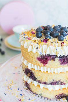 Vídeo- receta: Nude cake de limón y arándanos
