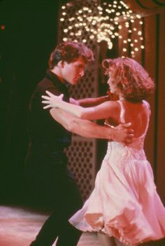 Patrick Swayze and Jennifer Grey in 'Dirty Dancing', 1987.