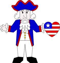 George Washington craft with template!