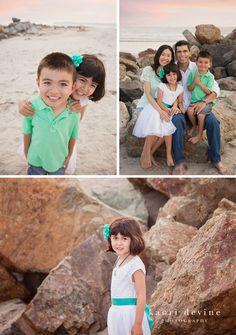 Coronado Beach Family Photography