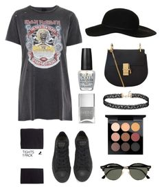 """#4"" by dtftyguyhiujlnjb ❤ liked on Polyvore featuring And Finally, Converse, H&M, Topshop, Ray-Ban, MAC Cosmetics, Chloé, OPI, Miss Selfridge and Nails Inc."