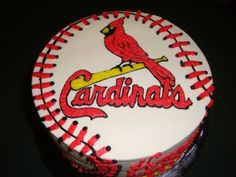 Peachy 106 Best Cakes Sports St Louis Cardinals Images St Louis Funny Birthday Cards Online Fluifree Goldxyz