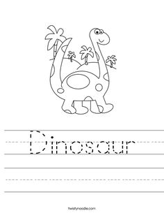 Dinosaur Color By Number | Color By Numbers, Dinosaurs and Numbers