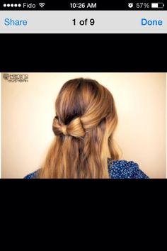 Hair Bow 💜
