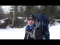 ActiveSteve takes the redesigned 2013 Osprey Aether backpack on a weekend ski camping trip to see how it works in action. Osprey Aether, Skiing, Rain Jacket, Windbreaker, Raincoat, Backpacks, Jackets, Fashion, Ski