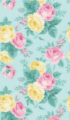 Green,yellow,pinkroses