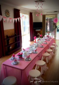 Tea Party theme hire package for girls | Perth, WA