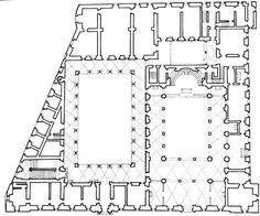 Leon Battista Alberti | Palacio de la Cancilleria | Roma, Italia | 1489-1513