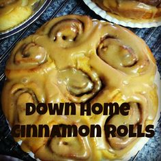 Cinnamon Rolls from the ranch