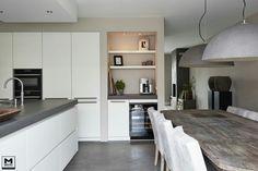 Keuken lampen wit grijs