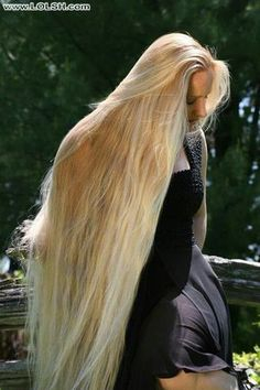 Enjoy the beauty of shiny and silky and smooth beautiful hair. Casual Updos For Long Hair, Long Hair Styles, Beautiful Long Hair, Gorgeous Hair, Silky Smooth Hair, Long Blond, Rapunzel Hair, Really Long Hair, Hair Images