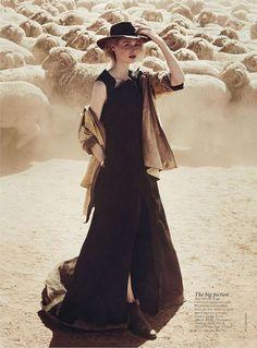 'See You At Sundown' Elizabeth Debicki by Will Davidson for Vogue Australia…
