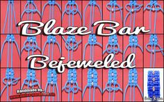 Blaze Bar Bejeweled Tutorial | Swiss Paracord