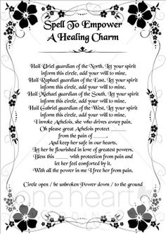 Spell to Empower a Healing Charm #wicca #witchcraft