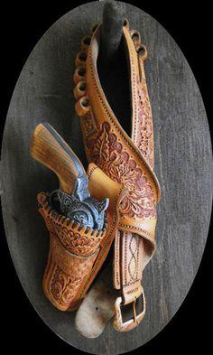 Leather holster-SR