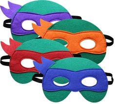 Printable Teenage Mutant Ninja Turtle Mask Template