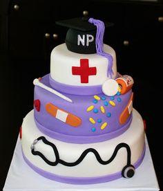 Creative Cakes by Lynn: Nurse Practitioner Graduation Cake