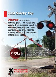 1000 Images About Rail Safety Tips On Pinterest Safety