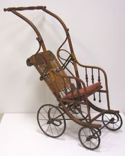 Antique Baby Stroller ... Eartly 20th Century