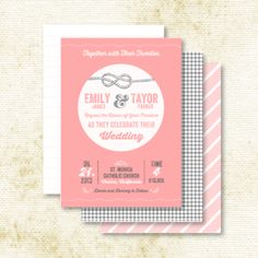 love arrows wedding invitations | Love Birds Elegant Wedding Thank You Note Cards. Modern Wedding ...